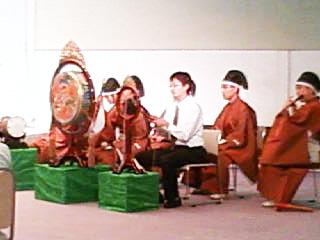 雅楽の演奏☆プオオオーン