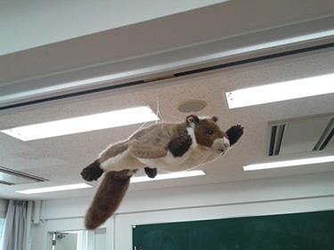 天井からのムサビー