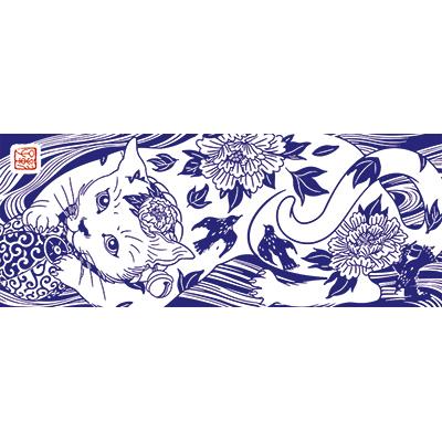 花鳥猫 江戸紫 [遠藤彰子]